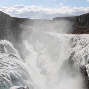 グトルフォスの滝 アイスランド旅行@ブループラネットツアー