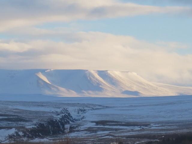 アイスランドの美しい山々の写真 アイスランド旅行@ブループラネットツアー