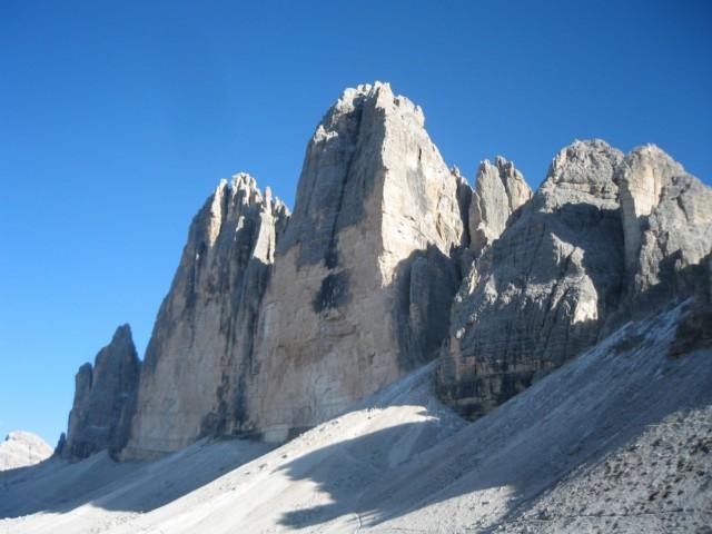 ドライチンネンの岩峰