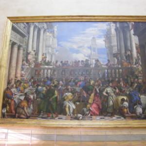 カナの婚宴|ヴェロネーゼ|ルーブル美術館|フランス旅行@ブループラネットツアー