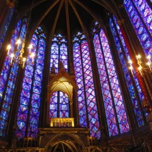 ステンドグラス|サントシャペル教会|フランス旅行@ブループラネットツアー