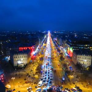 凱旋門|シャンゼリゼ|フランス旅行@ブループラネットツアー