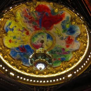 オペラ座|シャガールの天井画|フランス旅行@ブループラネットツアー
