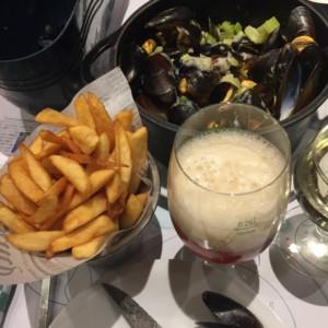 北海料理|ムール貝|フランス旅行@ブループラネットツアー