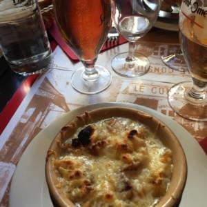 オニオンスープ フランス旅行@ブループラネットツアー