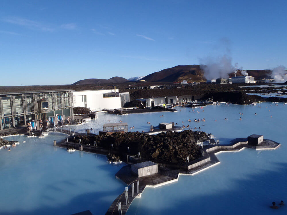 アイスランドのブルーラグーン アイスランド旅行@ブループラネットツアー