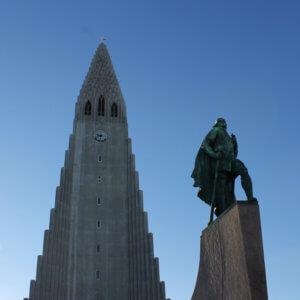 アイスランドの観光 レイキャビク ハトルグリムス教会 レイフエルクソン アイスランド旅行@ブループラネットツアー