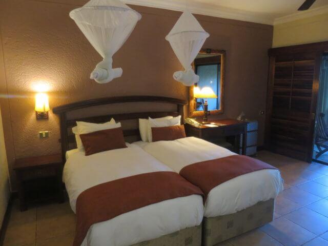 ジンバブエのホテル|南部アフリカ旅行