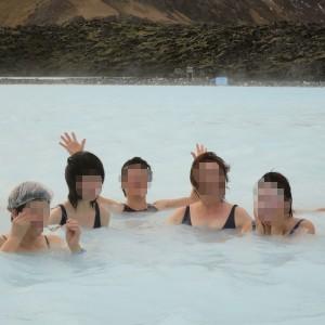 アイスランドのオーロラ ブルーラグーン 絶景のオーロラ アイスランド旅行@ブループラネットツアー