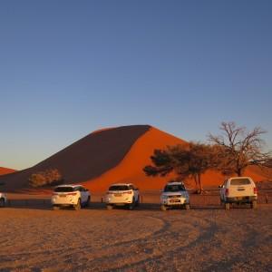 ドューン45|ナミブ砂漠|南部アフリカ旅行@ブループラネットツアー