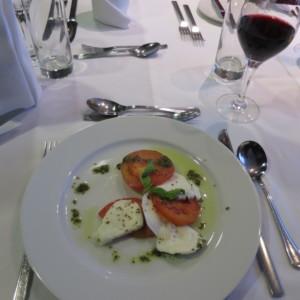 南極クルーズの食事