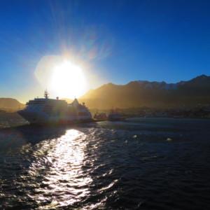 ウシュアイアから出航|南極クルーズ船|南極・南極上陸クルーズ旅行@ブループラネットツアー