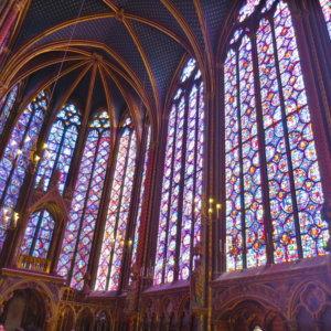 サントシャペル|ステンドグラス|フランス旅行@ブループラネットツアー