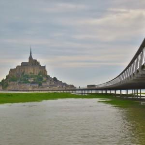 大潮|モンサンミッシェル|フランス旅行@ブループラネットツアー
