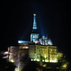 モンサンミッシェル 修道院 フランス旅行@ブループラネットツアー