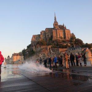 スーパー大潮|モンサンミッシェル|フランス旅行@ブループラネットツアー