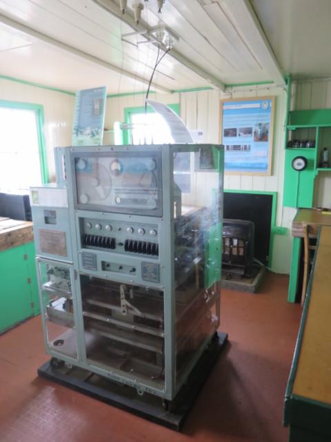 ポートロックロイ基地 観測室