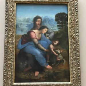 聖母子と聖アンナ|ダヴィンチ|ルーブル美術館|フランス旅行@ブループラネットツアー