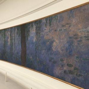 睡蓮 モネ オランジュリー美術館 フランス旅行@ブループラネットツアー