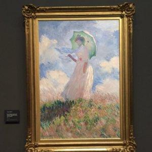 傘をさす女|モネ|オルセー美術館|フランス旅行@ブループラネットツアー