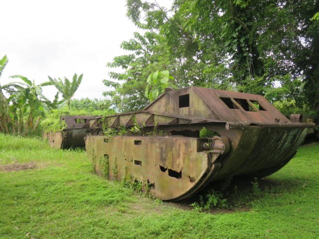 残された戦車