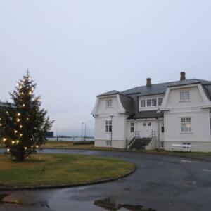 アイスランドの迎賓館 ホフディハウス 米ソ首脳会談 アイスランド旅行@ブループラネットツアー