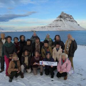 キルケフェットル アイスランドのオーロラ 絶景のオーロラ アイスランド旅行@ブループラネットツアー