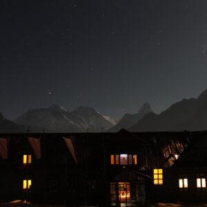 コンデロッジ|夜のエベレスト|ネパール・エベレスト街道トレッキング旅行@ブループラネットツアー