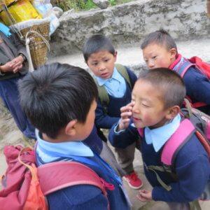 エベレスト街道の子供たち