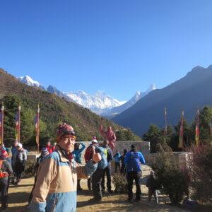 ナムチェ エベレスト ネパール・エベレスト街道トレッキング旅行@ブループラネットツアー