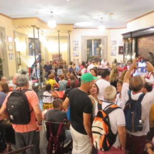 世界遺産|ハバナのカフェのフロリディータ|ヘミングウェイ|キューバ・世界遺産旅行@ブループラネットツアー