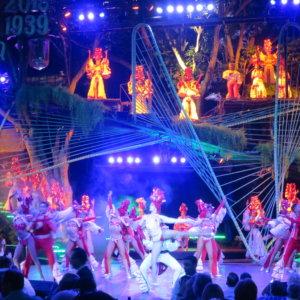 トロピカーナショー|ハバナの夜|キューバ・世界遺産旅行@ブループラネットツアー
