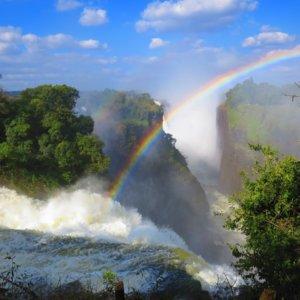 ビクトリアの滝|ルナレインボウ|南部アフリカ旅行@ブループラネットツアー