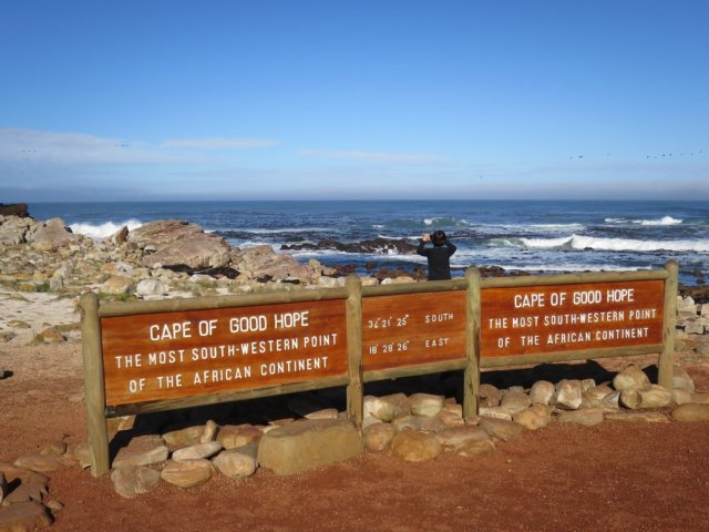 喜望峰|アフリカ最南西端|南部アフリカ旅行@ブループラネットツアー
