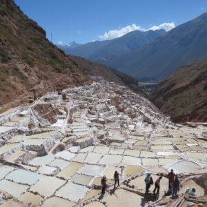 マラスの塩田 聖なる谷 ペルー・マチュピチュとナスカ旅行@ブループラネットツアー
