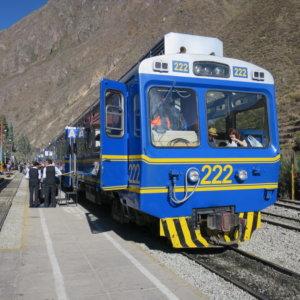 マチュピチュへの列車|ペルー・マチュピチュとナスカ旅行@ブループラネットツアー