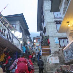 ナムチェバザール ネパール・エベレスト街道トレッキング旅行@ブループラネットツアー