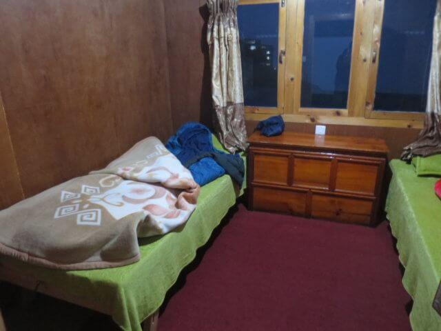ロッジの部屋