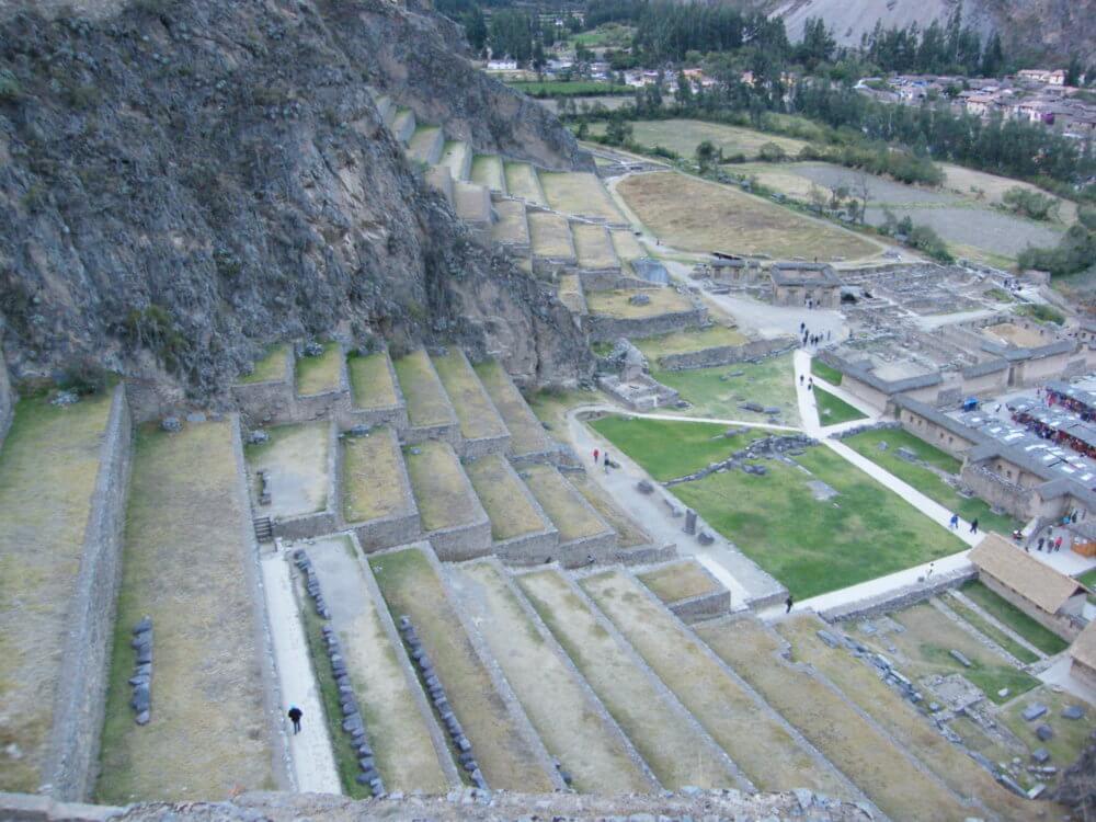 オリヤンタイタンボ遺跡|ペルー・マチュピチュとナスカ旅行@ブループラネットツアー