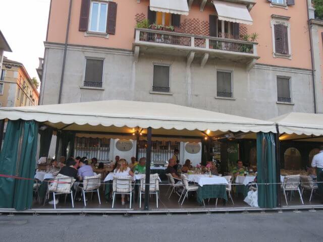 ミラノのローカルレストラン