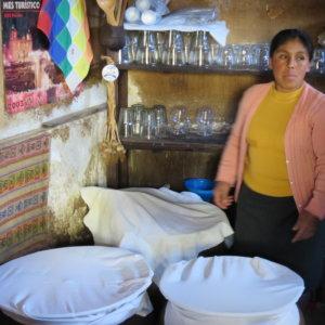 ペルーの農家訪問 ペルー・マチュピチュとナスカ旅行@ブループラネットツアー