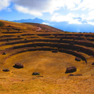 聖なる谷 モライ遺跡 ペルー・マチュピチュとナスカ旅行@ブループラネットツアー