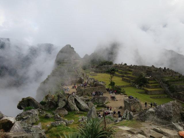 霧のマチュピチュ1