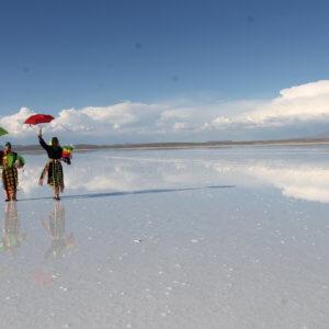 ウユニ塩湖&先住民