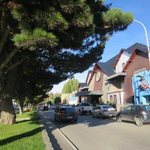 カラファテの街