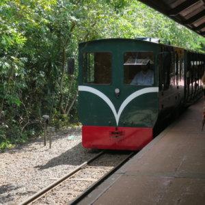 イグアス公園内の汽車