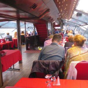 セーヌ河ディナークルーズ|フランス旅行@ブループラネットツアー
