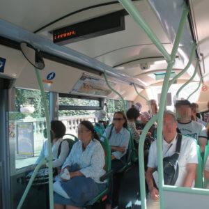 パリの路線バス|フランス旅行@ブループラネットツアー