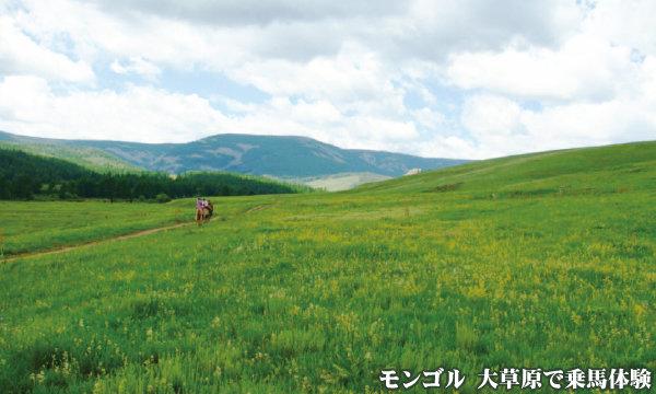 モンゴル乗馬体験@ブループラネットツアー